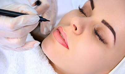 Maquillage permanent chez Spa Jouvence